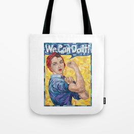 We Can Do It! Rosie the Riveter Tote Bag