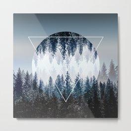 Woods 4 Metal Print