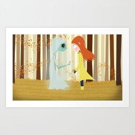 New Friends Art Print