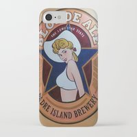 ale giorgini iPhone & iPod Cases featuring Blonde Ale Padre Island Brewery by Tina Vaughn