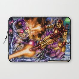 Sentinels Attack Iron Man Laptop Sleeve