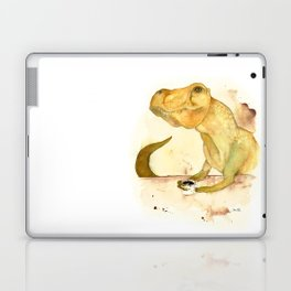 T-Rex Morning Coffee Laptop & iPad Skin