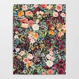 Fall Floral Poster