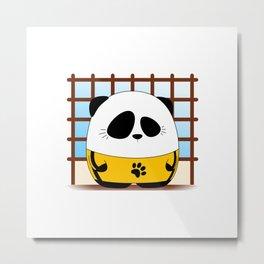 Panda Plopz (G.O.D) Metal Print