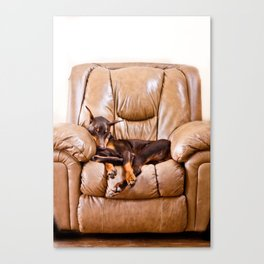 Ruff Life Canvas Print