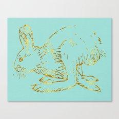Golden Bun Canvas Print