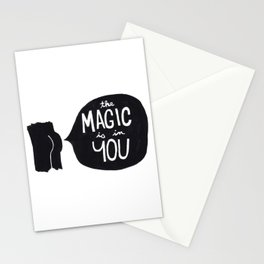 The magic is in you Stationery Cards