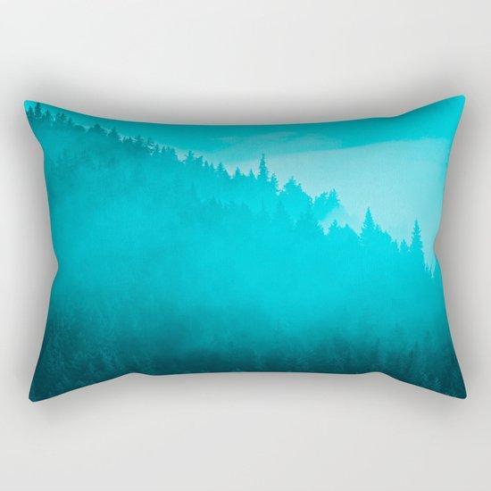 Early Morning Mist - II Rectangular Pillow