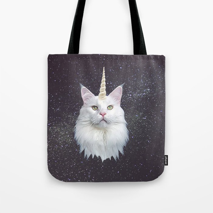 Unicorn Cat Tote Bag