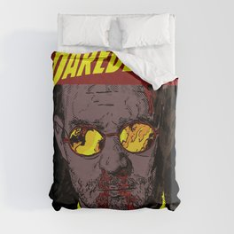 The Man Without Fear Duvet Cover