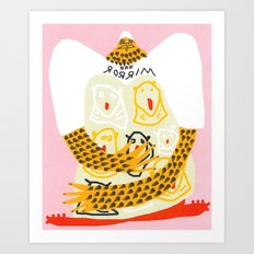 Don't Touch My Goochi Art Print
