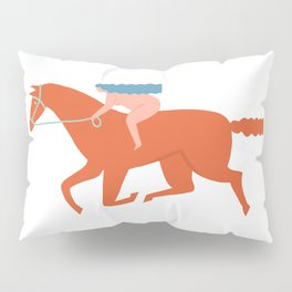 Naked derby Pillow Sham