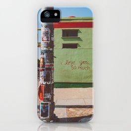 I Love You So Much Austin iPhone Case