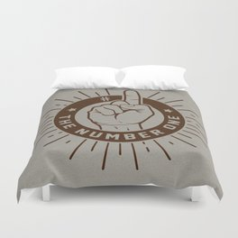 The Number One Duvet Cover