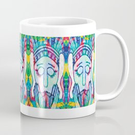 Kissed Tulips Logo Face Coffee Mug