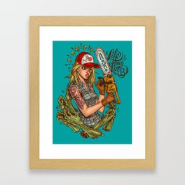 Life and Limb Framed Art Print