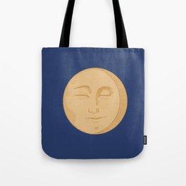 Vintage Moon Tote Bag