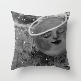 In the Stardust of a Dream Throw Pillow