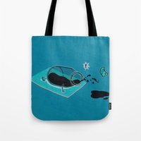 sport Tote Bags featuring Sport Injuries by Zachary Huang