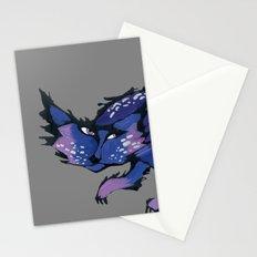 stray cat Stationery Cards