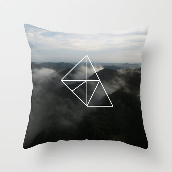 Geometry Throw Pillow by Geometry Society6