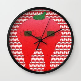 Watermelon blodbaby Wall Clock