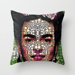 Frida Kahlo Art - Define Beauty Throw Pillow