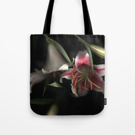 Flowering Lilies | Scanography Tote Bag