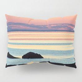 Circle of Rocks and the Sea at Dusk Pillow Sham