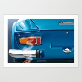 Renault Alpine A110 from 1962 Art Print