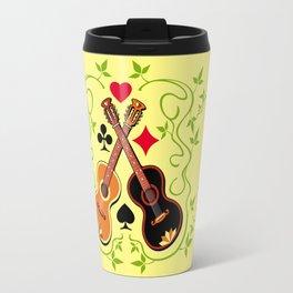 Two gypsy guitars  Travel Mug