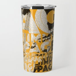 Jimmy Page - Yellow Travel Mug