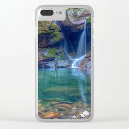 Devil's Punchbowl Falls Trailhead Angwin California Untied States Ultra HD Clear iPhone Case