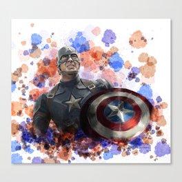 Capt America Canvas Print