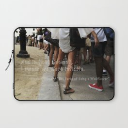 ...I swear we were infinite - The Perks of Being a Wallflower Laptop Sleeve