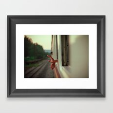 Kapunka Framed Art Print