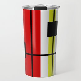 Geometrical design Travel Mug