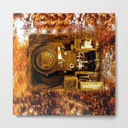 Vintage Victor Camera HDR Metal Print