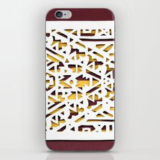 Aztec Pattern Papercut iPhone & iPod Skin