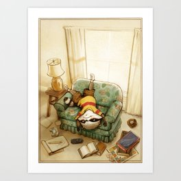 There's Nothing to Do... Art Print