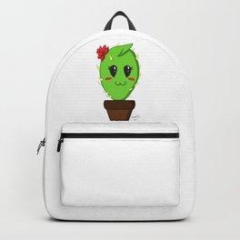 Unfortunate relationship: cute cactus black symbol Backpack