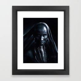 Beautiful african Framed Art Print