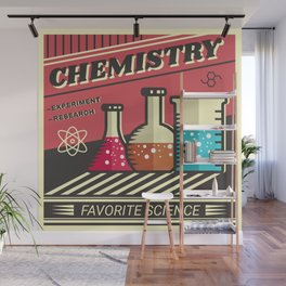 Chemistry Wall Mural