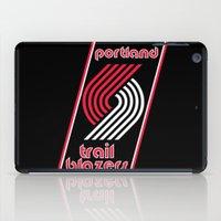 nba iPad Cases featuring NBA - Trail Blazers by Katieb1013