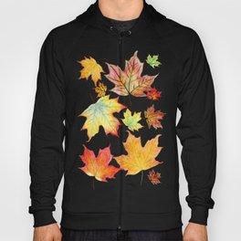 Autumn Maple Leaves Hoody