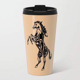 Tribal Horse Travel Mug