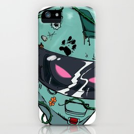 KILL SEZN: SKID LID iPhone Case