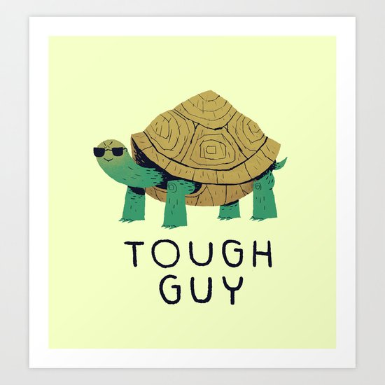 tough guy Art Print