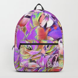 Candy floral mix pink Backpack