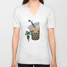 Food Series - Bubble Milk Tea Unisex V-Neck
